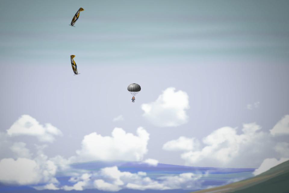 Blazin' Aces HD - Parachute